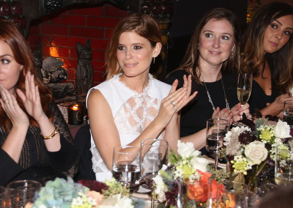 Botkier New York Private Dinner With Kate Mara
