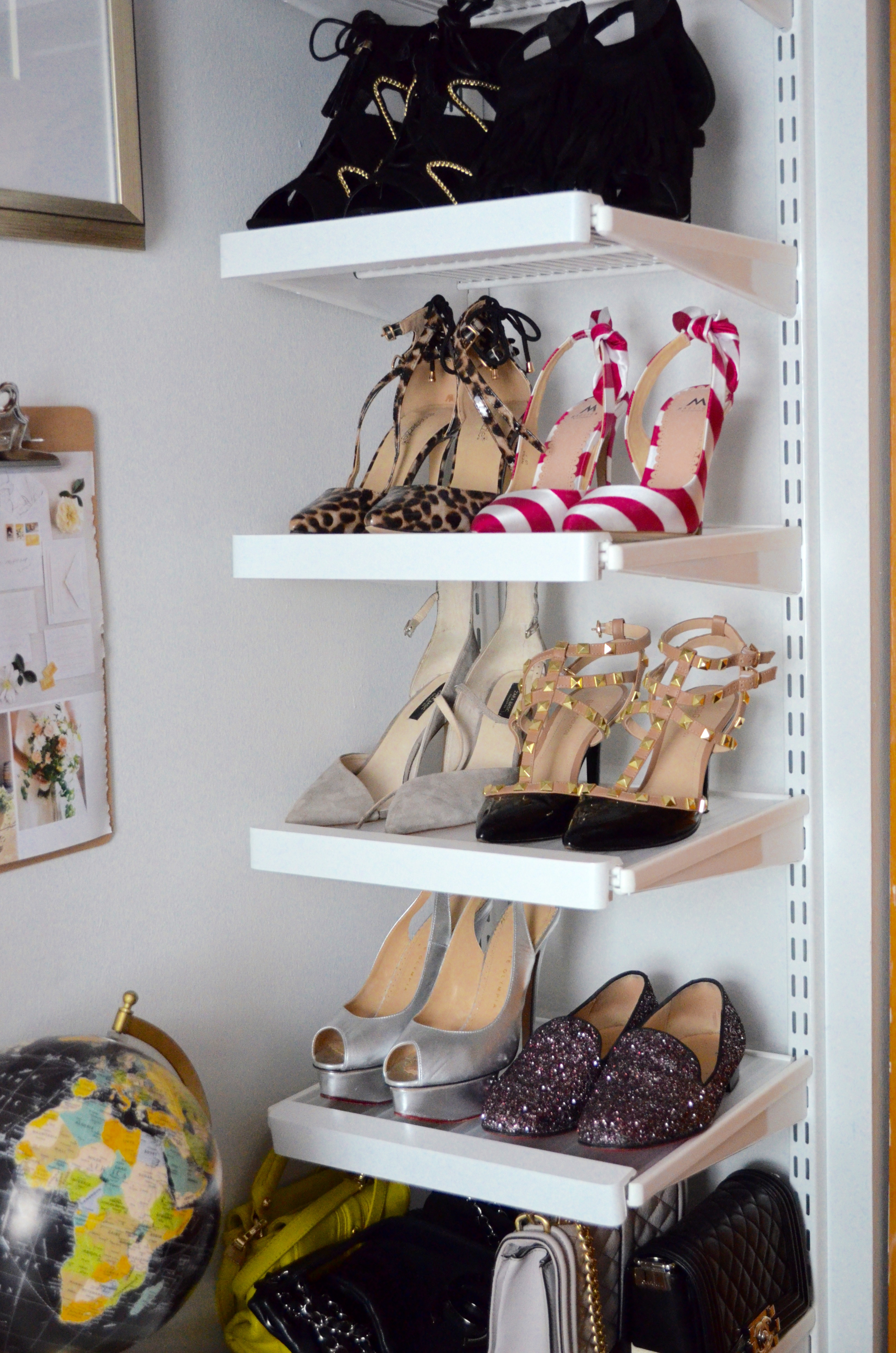 The DIY Shoe Rack With The Container Store KC You There